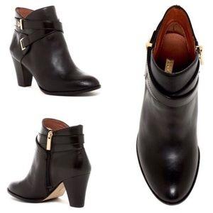 Louise et Cie Ranier Black Leather Booties 8.5W